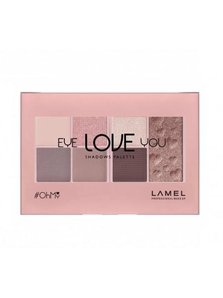 """Набор теней для век Oh My Eye LOVE You т.402 Sunset 10 г """"Lamel"""""""