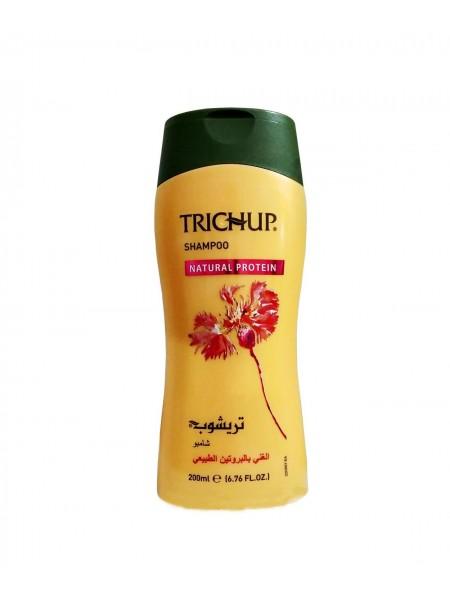 "Шампунь с натуральным протеином Natural Protein, 200 мл ""Trichup"""