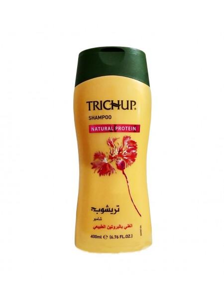 "Шампунь с натуральным протеином Natural Protein, 400 мл ""Trichup"""