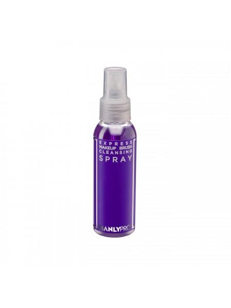 """Экспресс-очиститель кистей для макияжа с антибактериальным эффектом 100 мл  """"Manly Pro"""""""
