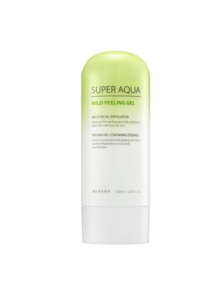 """Пилинг-гель для лица Super Aqua Mild Peeling Gel (100 мл) """"Missha"""""""