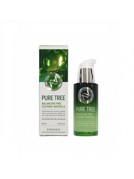 "Сыворотка для лица Pure Tree Balancing Pro Calming Ampoule 30 мл ""Enough"""