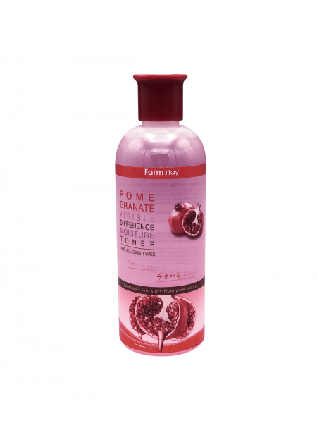 "Тонер для лица Visible Difference Moisture Toner Pomegranate ""Farm Stay"""