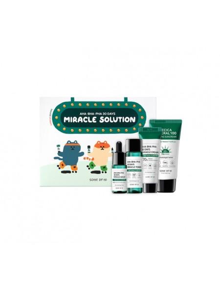 "Набор AHA/BHA/PHA 30 Days Miracle Solution ""Some By Mi"""