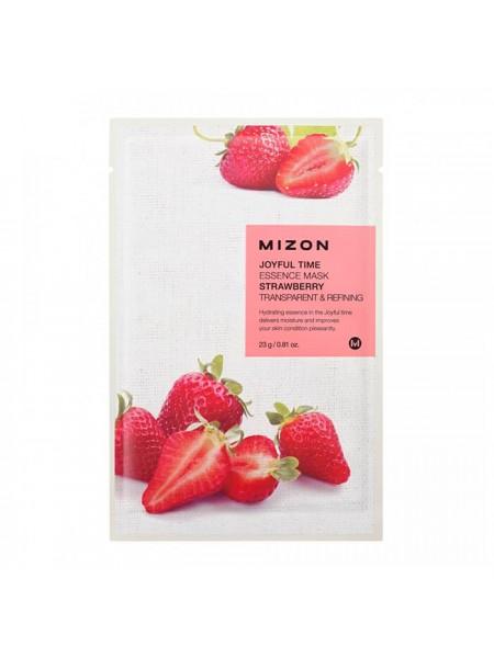 """Тканевая маска с эссенцией из натуральных экстрактов 23г Strawberry """"Mizon"""""""