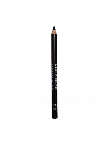 Карандаш-каял для глаз Kohl Pencil 1K черный