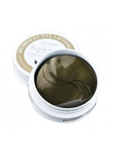 "Патчи Black Pearl & Gold Hydrogel Eye Patch ""PETITFEE"""