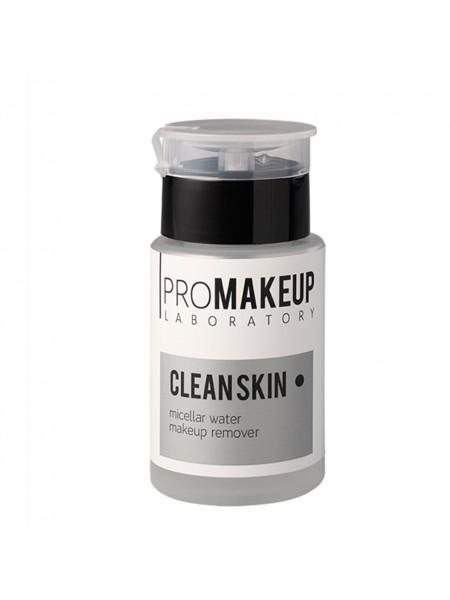 "Мицеллярная вода для снятия макияжа с диспенсером CLEAN SKIN , 100 мл ""PROMAKEUP"""