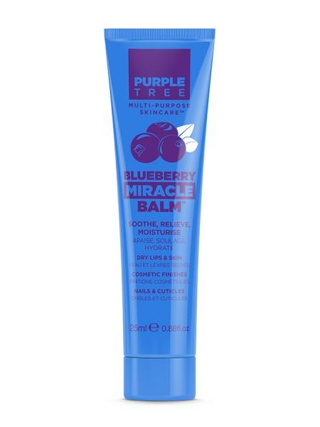 """Бальзам для губ и ухода за кожей с черникой  """"Purple Tree """""""