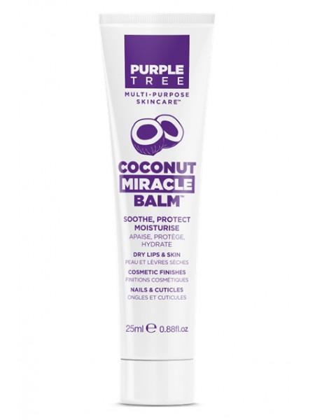 """Бальзам для губ и ухода за кожей с кокосом """"Purple Tree """""""