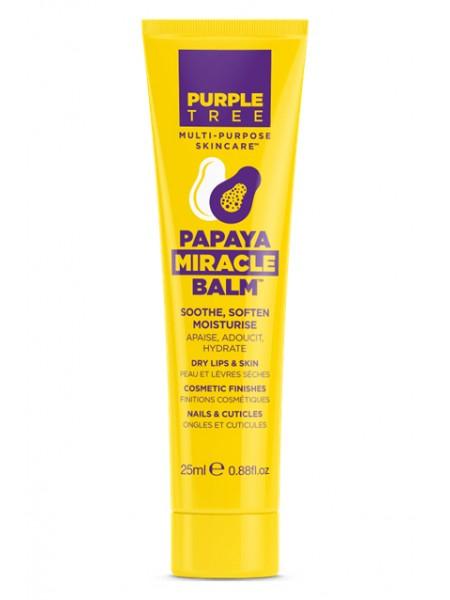 """Бальзам для губ и ухода за кожей с папайей """"Purple Tree """""""