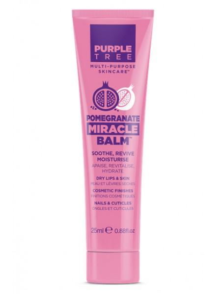 """Бальзам для губ и ухода за кожей с гранатом  """"Purple Tree """""""