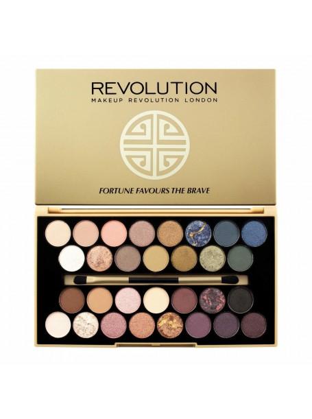"Палетка теней  Fortune Favours The Brave 30 оттенков ""Makeup Revolution"""