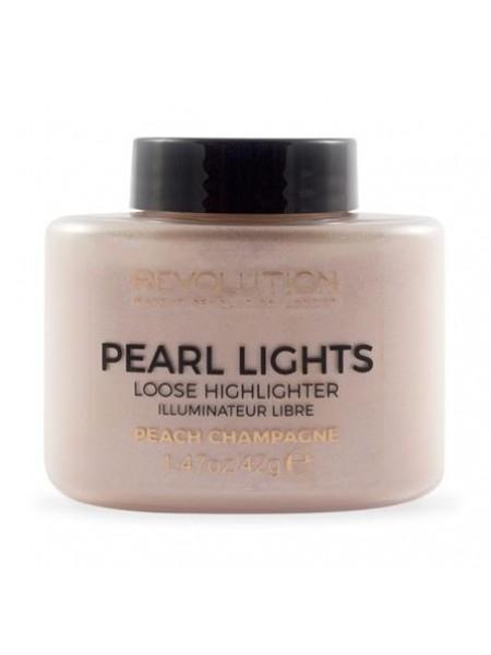 "Рассыпчатый хайлайтер - Peach Champagne ""Makeup Revolution"""