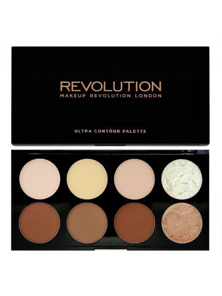 """Палетка для контурирования Ultra Contour Palette """"Makeup Revolution"""""""