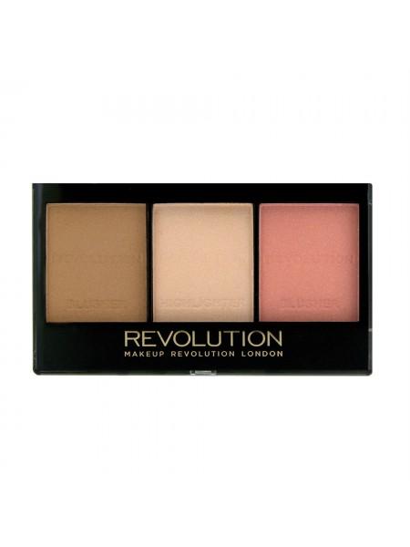 """Палетка для скульптурирования лица Ultra Sculp and Contour Kit """"Makeup Revolution"""""""