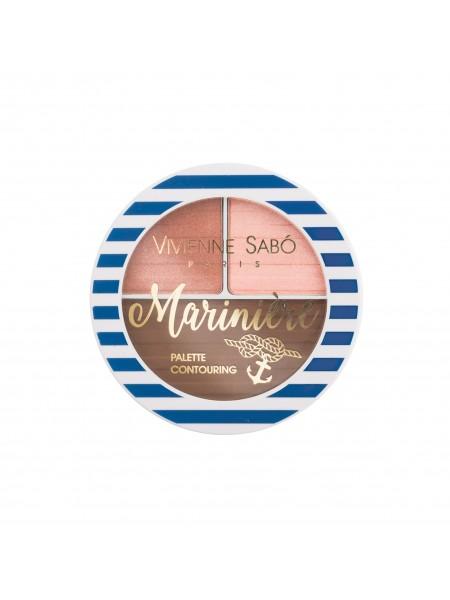 Палетка для скульптурирования лица Mariniere 01 Vivienne Sabo