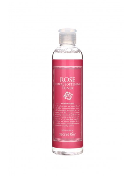 "Тонер для лица с экстрактом розы Rose Floral Softening Toner 248 мл ""Secret Key"""