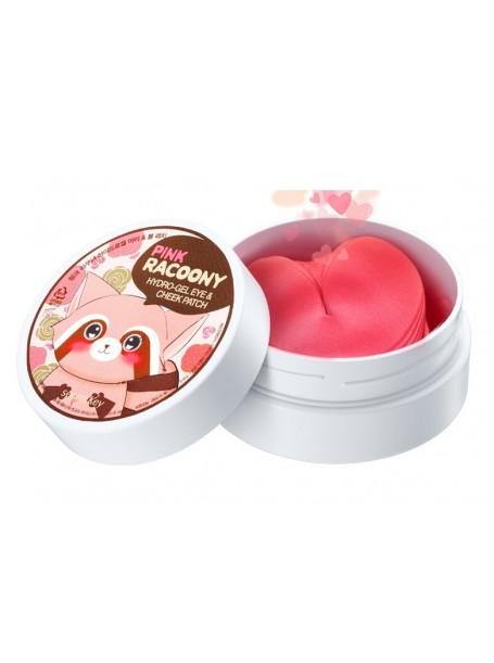 """Гидрогелевые патчи для глаз и щек Pink Racoony Hydro-Gel Eye & Cheek Patch """"Secret Key """""""