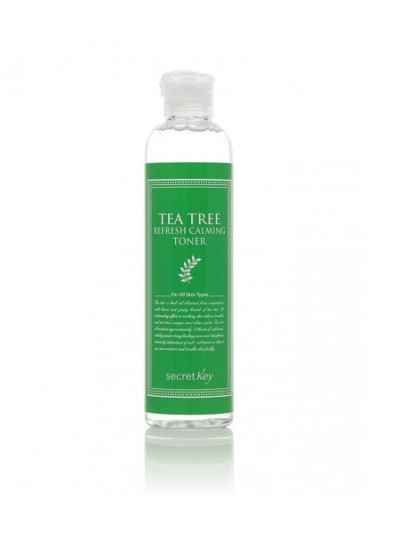 """Тоник для лица чайное дерево (антибактериальный)  """"Secret Key"""""""