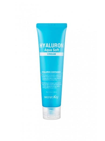 """Гиалуроновый крем для лица Hyaluron Aqua Soft Cream """"Secret Key"""""""