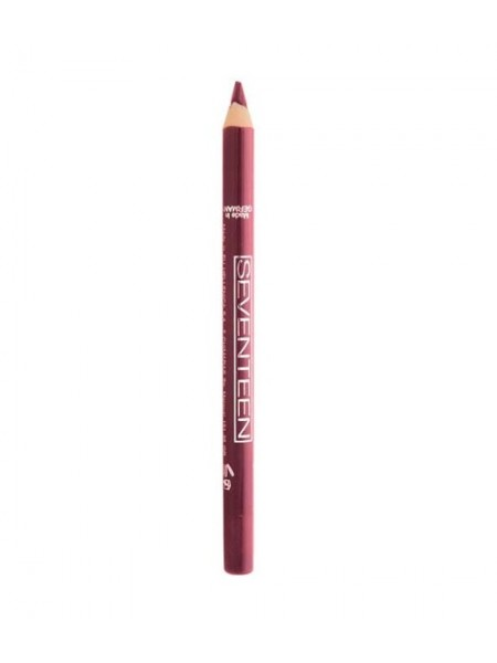 """Водостойкий карандаш для губ  Supersmooth Waterproof Lipliner """"Seventeen"""""""
