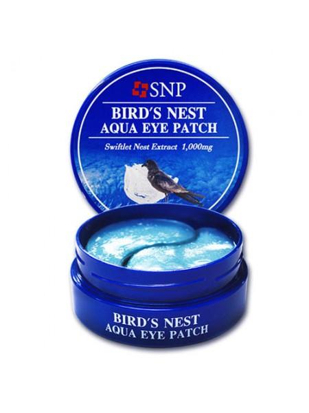 """Гидрогелевые патчи для кожи вокруг глаз Ласточкино гнездо """"SNP"""""""