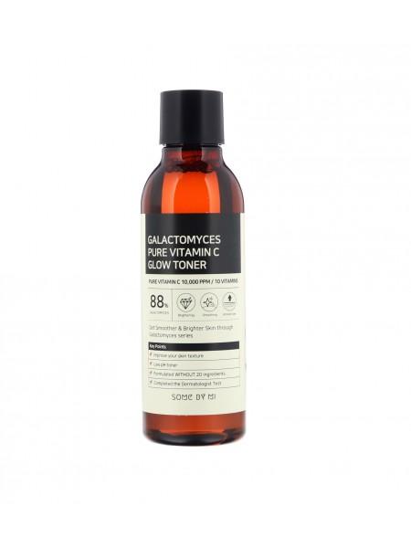 "Тонер для сияния кожи с витамином С  Galactomyces Pure Vitamin C Glow Toner ""Some By Mi"""