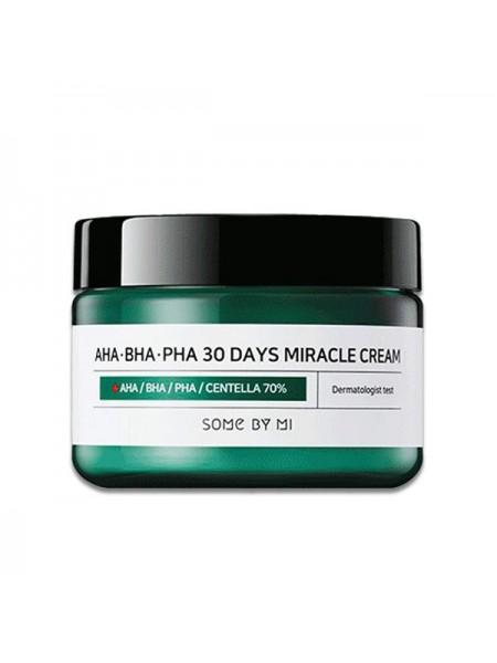 "Крем для лица AHA BHA PHA 30 Days Miracle Cream ""Some By Mi"""
