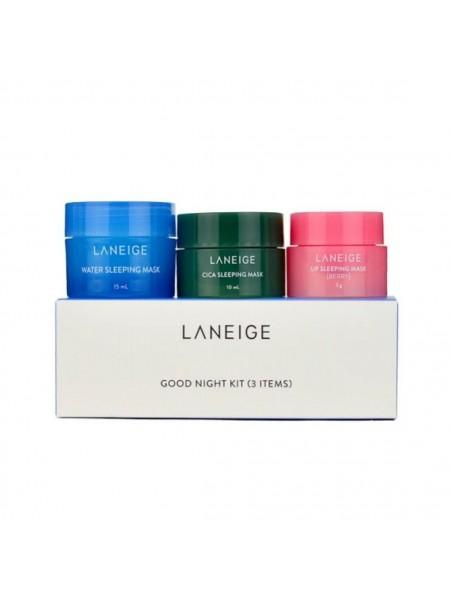 """Набор ночных мини масок Good Night Kit (3 items) """"Laneige"""""""