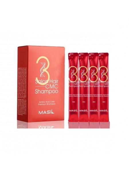 "Шампунь с аминокислотами для волос. Salon hair cmc shampoo, 20*8 мл. ""Masil"""
