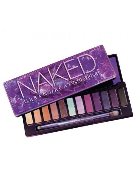 "Тени для век Naked Ultraviolet Eyeshadow Palette 2020 Violets & Nudes ""Urban Decay"""